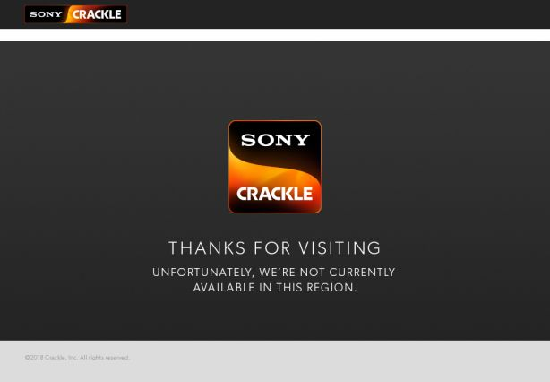 Crackle out-of-region