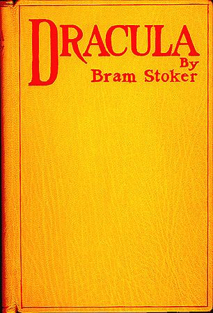 Dracula 1st edition cover