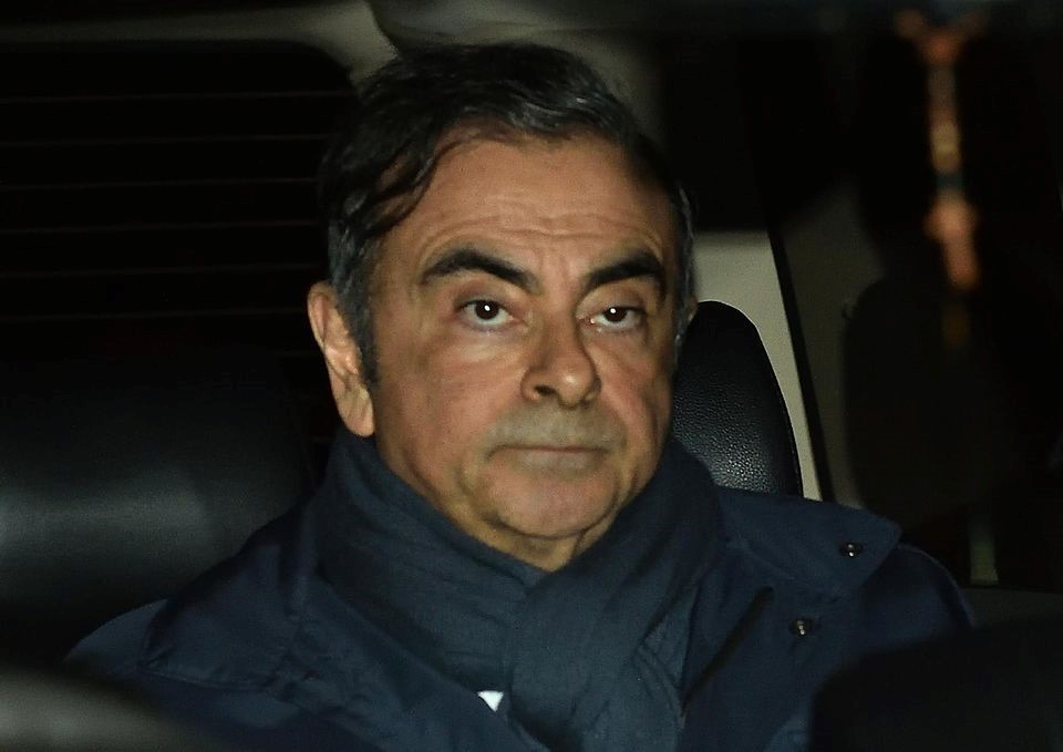 Carlos Ghosn le 3 avril - Photo Libération