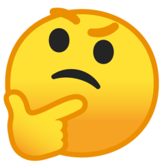 Emoji - thinking-face