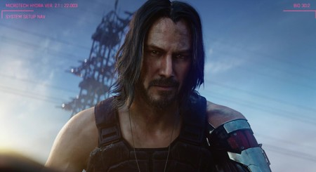Keanu Reeves in Cyberpunk 2077 trailer