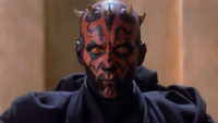 Darth Maul in The Phantom Menace - Origen Lucas Art Disney
