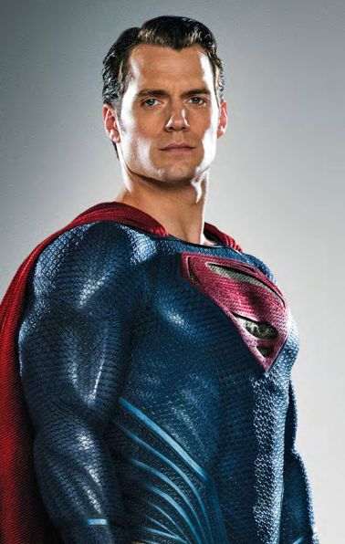 Henry Cavill as Superman - Origen Warner