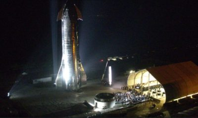 SpaceX Starship - captura pantalla sitio web SpaceX