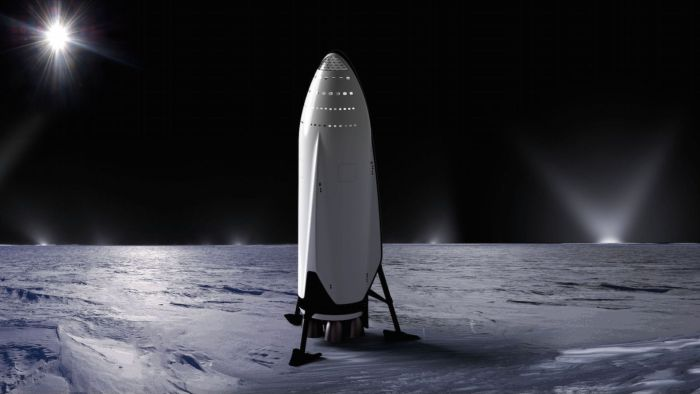 SpaceX Starship inicial vision - Origen SpaceX