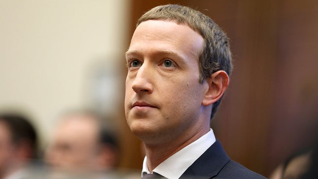 Mark Zuckerberg at Financial Service Committee - Origen desconocido