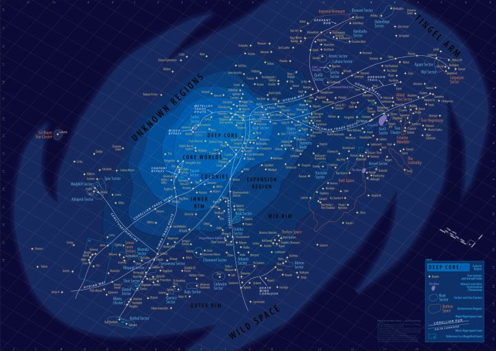 Star Wars Galaxy Map - Origen Wikipedia