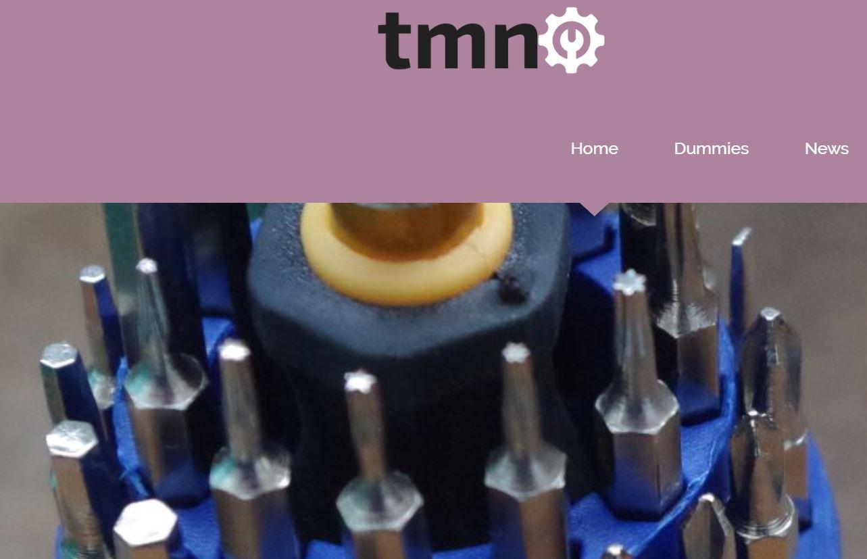 Página TMN - Dominio registrado