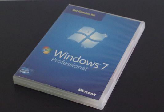 Caja licencia Windows 7 - Colección TMN