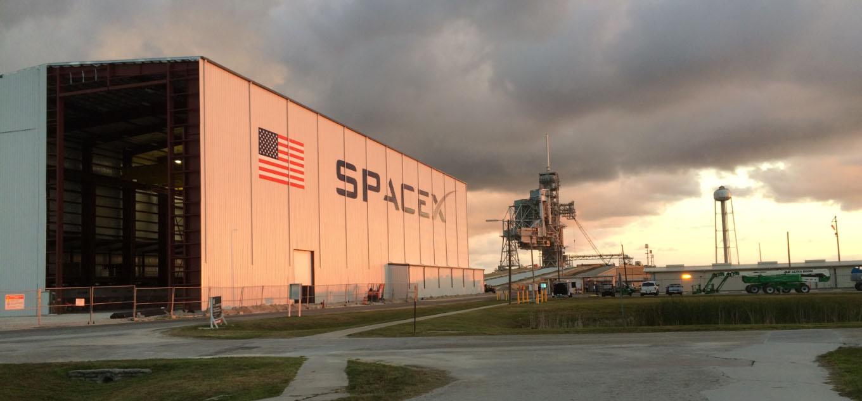 Instalaciones SpaceX - Origen SpaceX