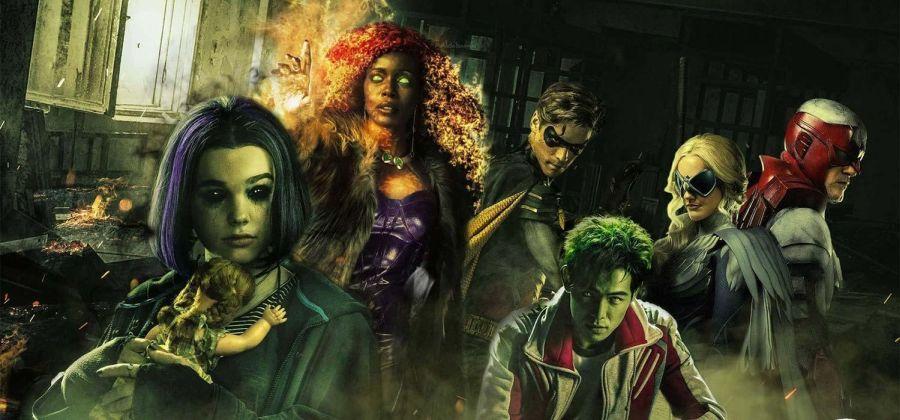 Afiche DC's Titans - DC Entertainment