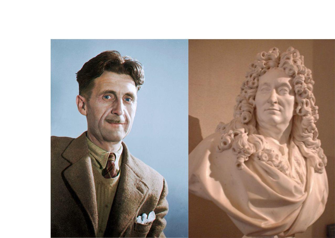 George Orwell y Nicolas Boileau