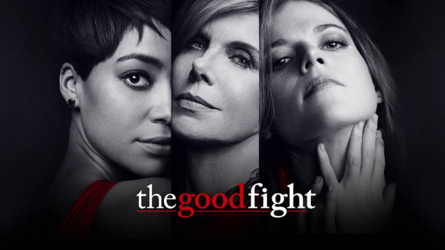 Afiche serie The Good Fight - Origen CBS Channel