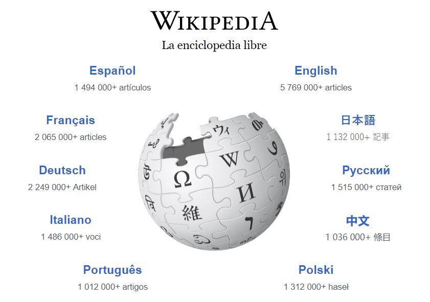 Portada Wikipedia