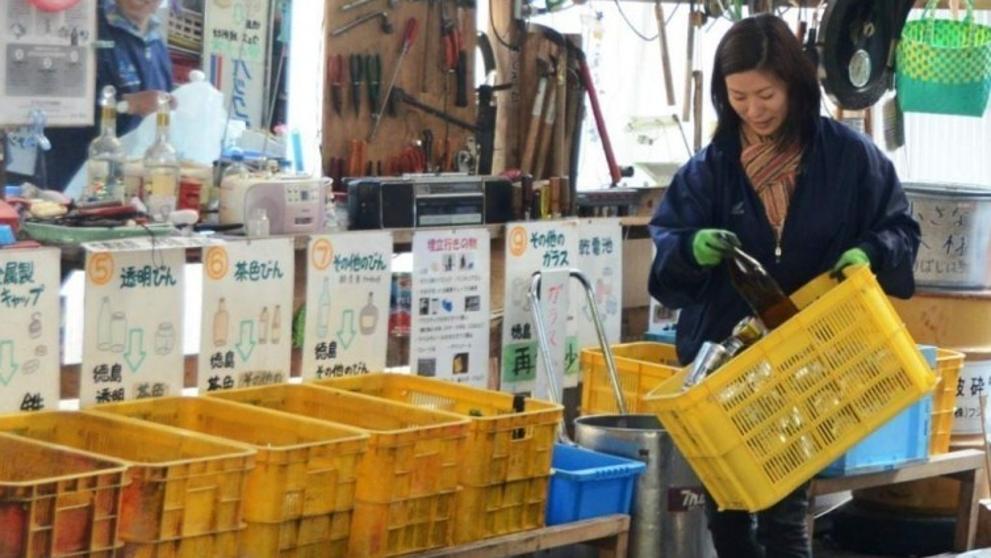 Foto Planta recicladora de Kamikatsu