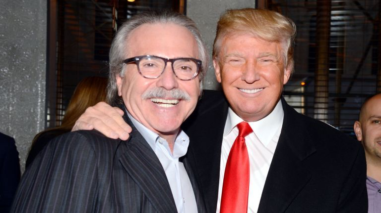 "David Pecker and Donald J Trump - Photo ""Politics, Law & You"