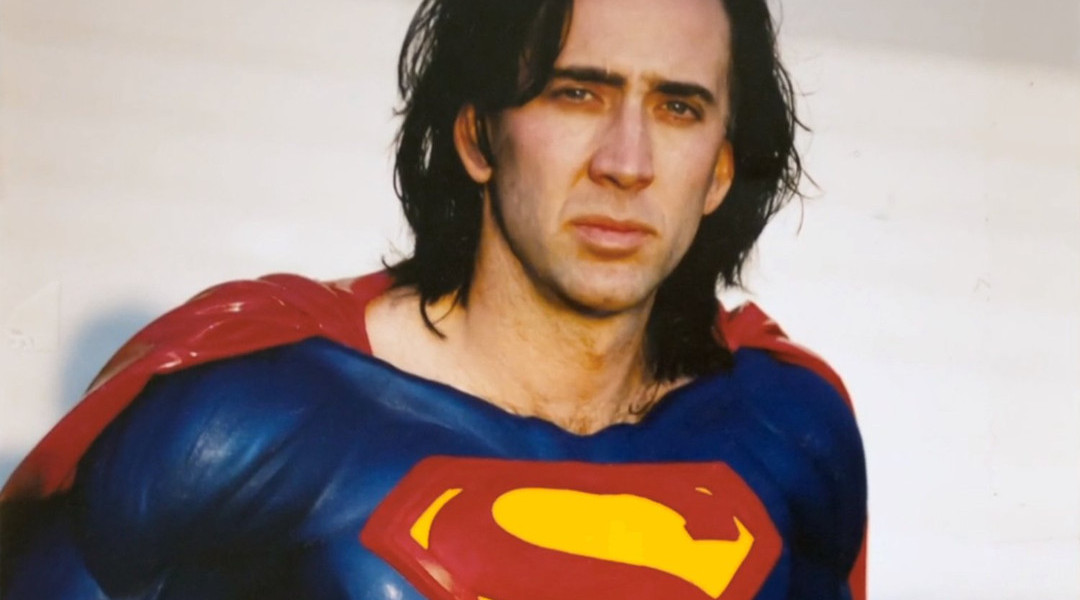 Nicolas Cage - foto ensayos para Superman Lives