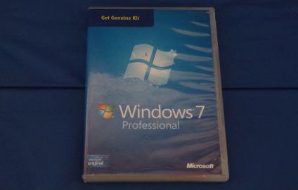 Caja original Windows 7 Profesional - Colección TMN