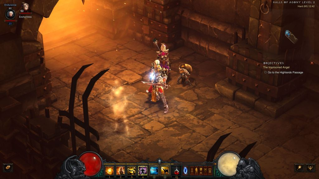 Diablo III in-game capture