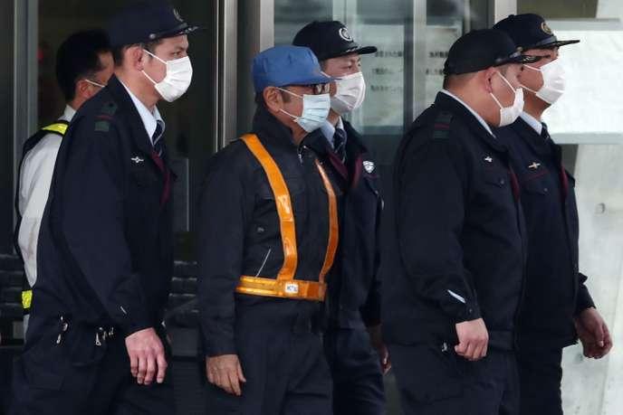 Carlos Ghosn presque incognito - Photo AFP