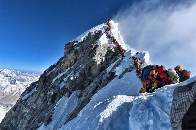 Fila de Espera al Everest - Origen AP