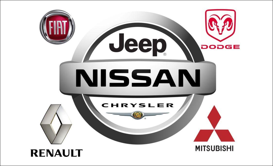 Nissan y los demás - logos oficiales de marcas