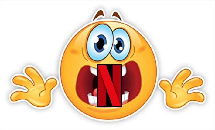Netflix panic - With VectorStock Emoj