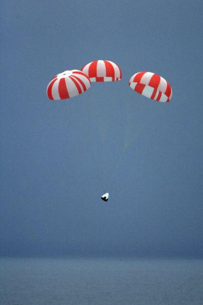 Crew Dragon Parachute test - Origen SpaceX