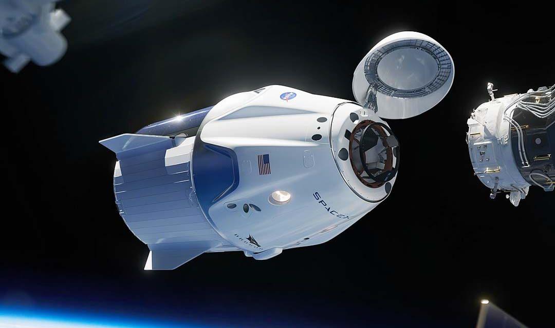 Capsula SpaceX Crew Dragon desde la estación ISS - Origen NASA