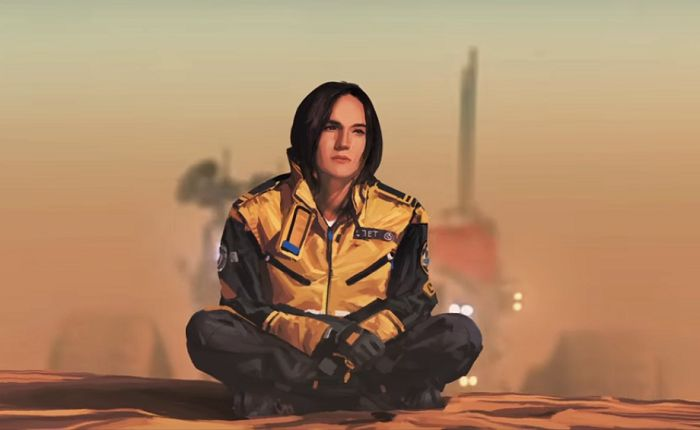 Rachel S'Jet - Homeworld Deserts of Kharak - Blackbird Interactive