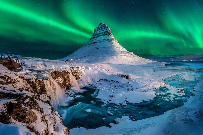 Iceland-mount-Kirkjufell-aurora - Origen desconocido