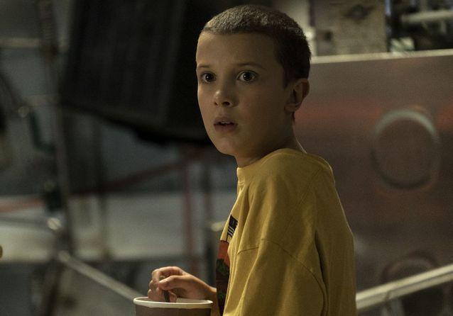Eleven en Stranger Things - Origen Netflix