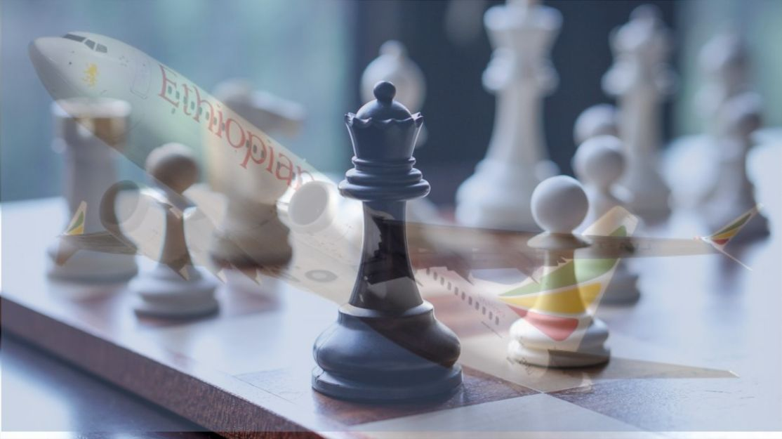 Boeing checkmate - Montaje fotográfico orígenes múltiples