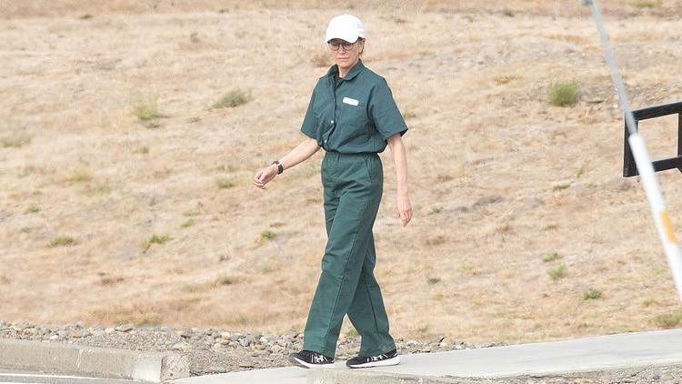 Felicity Huffman during jail sentence - Origen desconocido