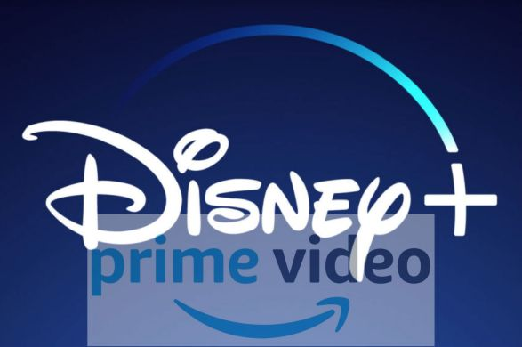 Logos Disney y Amazon Prime