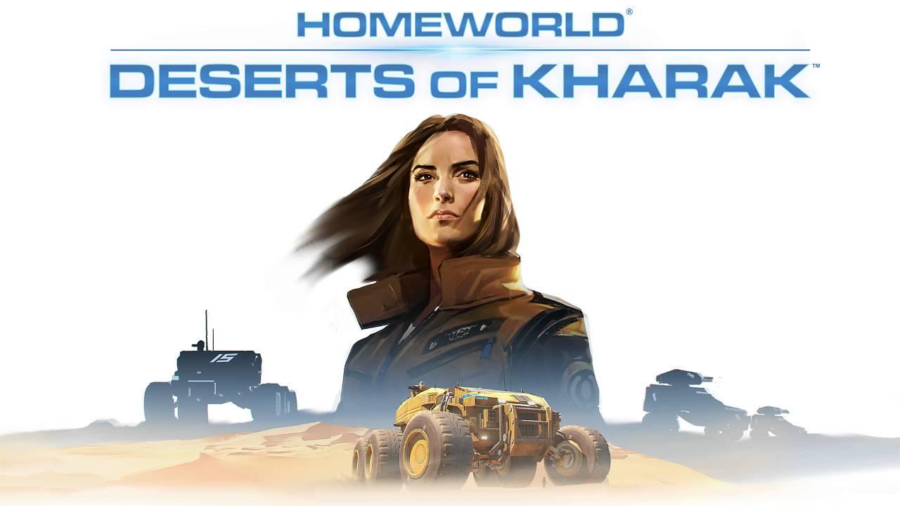 Afiche oficial Juego Homeworld: Desert of Kharak