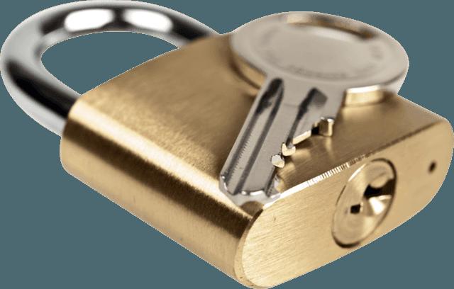 Candado y llaves - Origen desconocido