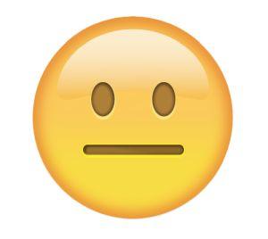 Emoji frio
