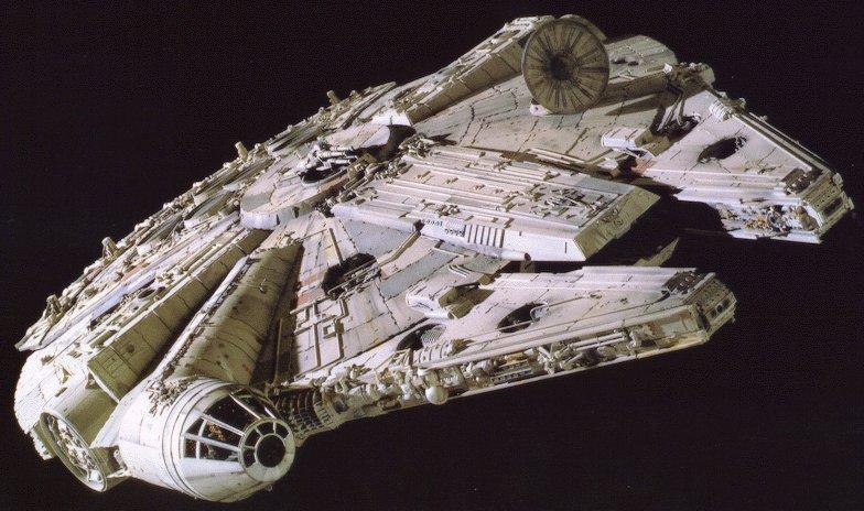 El Millenium Falcon - Origen LucasArt