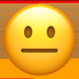 Emoji Neutral Face - Origen Facebook