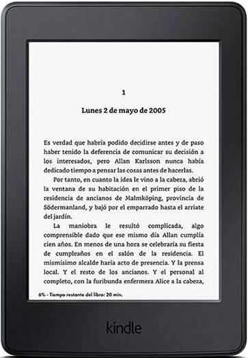 Lector de E-Books Amazon Kindle - Origen Amazon