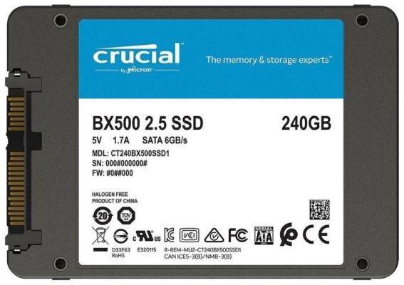 SSD Crucial SATA