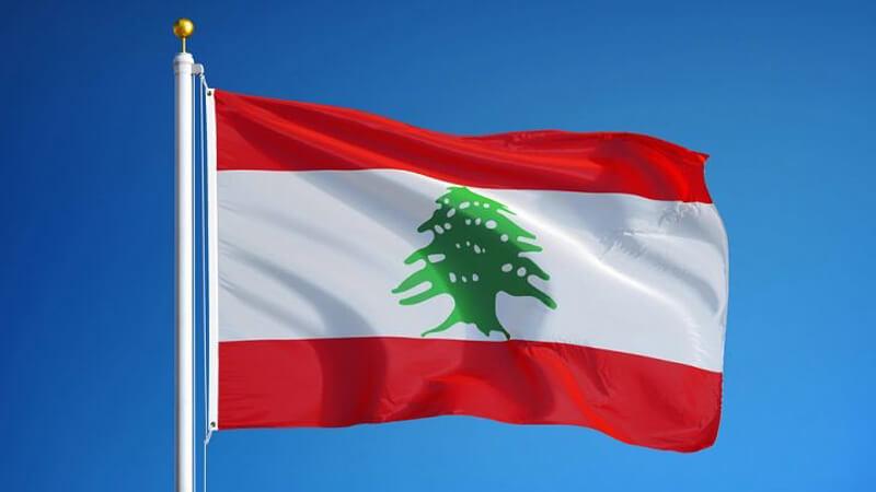 Bandera del Libano