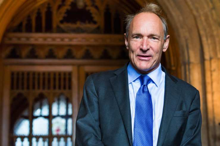 Tim Berners-Lee por Paul Clarke - Origen Wikimedia