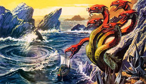 Scylla and Charybdis - Origen Deconocido