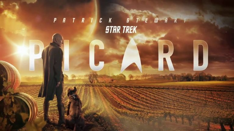 Afiche de Star Trek Picard - Origen Amazon Prime
