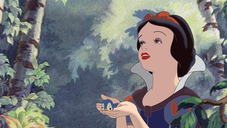 Imagen de Blanca Nieve dibujada por Walt Disney - Origen Disney