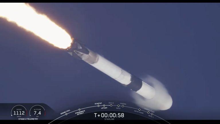 Max-Q point - Origen Video SpaceX