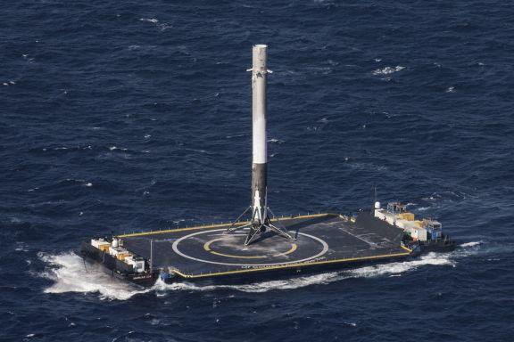 Plataforma Of Course I Still Love You - Origen SpaceX