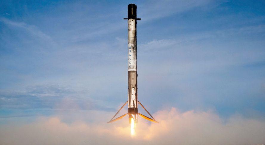 Regreso de un lanzador Falcon-9 - Origen SpaceX
